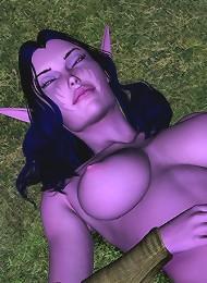 XXX 3D World Comix