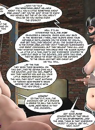 Sexy 3D Comics