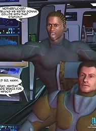 Sci-Fi porn comics