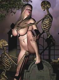 BDSM 3D Cartoon