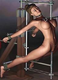 Hot 3D BDSM Comix