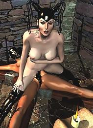 Adult BDSM 3D Comix