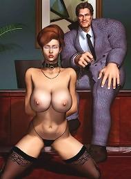 BDSM 3D Comics