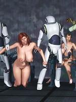 Nasty BDSM 3D Comix