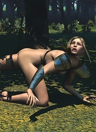 3D partner got Nurse with stiff tits fulfilled