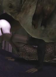 Vigrin gets forced to blow till gets bent over