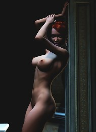 Cruel 3D Babe slammed in her pussy by Monster