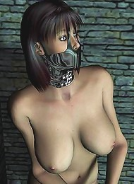 Sexy Toon Streetwalker deepthroating