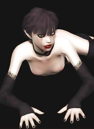 Gothic beauty solo set