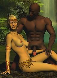 Cum crazy Nurse getting penetrated hard by Goblin
