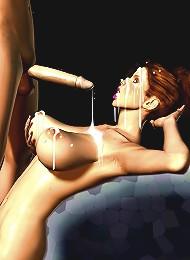 3d hentai lesbian porn