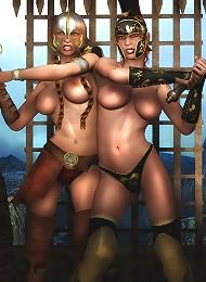 cartoon 3d porn