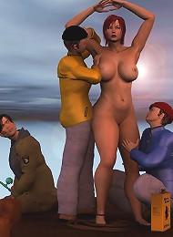 porn 3d