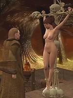 Shy Sex expert penetrates a Sorceress's asshole