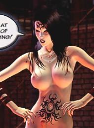 Hot Anime Secretary pleasures dong